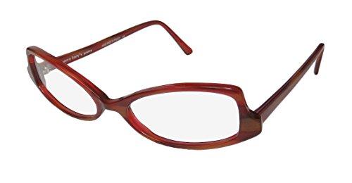 Harry Lary's Stacey Womens/Ladies Designer Full-rim Eyeglasses/Spectacles (51-18-0, Burgundy / - Glasses Inexpensive Designer