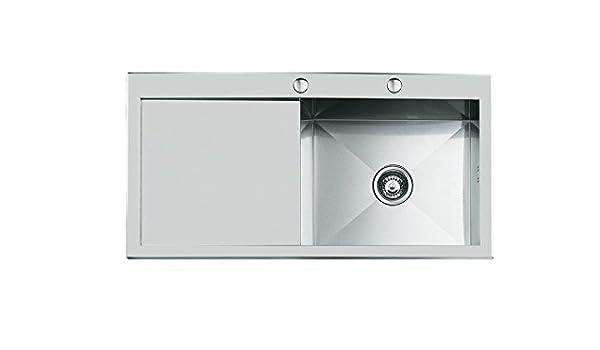 Accessori Per Lavelli Foster.Lavelli Foster Quadra Lavello Per Cucina 1213051 Amazon Com