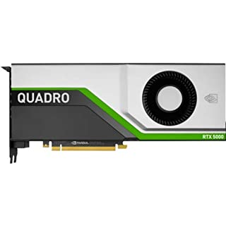 HP NVIDIA Quadro RTX 5000 PCIe 3.0 X16 Graphics Card, 16GB GDDR6, Silver