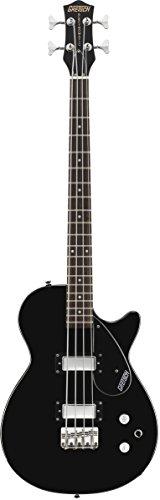 Gretsch G2220 Junior Jet Electric Bass Guitar II - Black (Scale Guitar Bass Short)