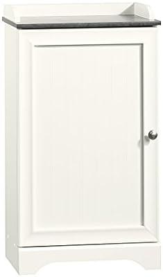 Amazon Com Sauder Caraway Floor Cabinet Soft White Finish