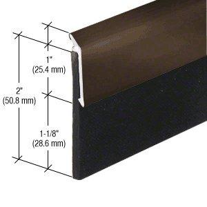 CRL Dark Bronze Anodized Heavy-Duty Door Sweep 48''