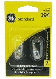 Amazon.com: 6 Pack GE Lighting 194/BP2 Automotive Instrument, License Light Miniature Bulb (12328) 2 Lamps per Blister: Automotive