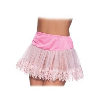 Heart Teardrop Petticoat Costume Accessory - One Size - Dress Size 8-14