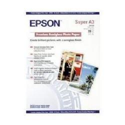 20 Fogli Epson S041328 Carta Fotografica Premium Semigloss A3+