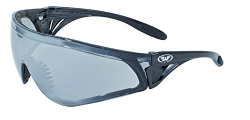 Global Vision Eyewear Python Safety Glasses, Flash Mirror Lens