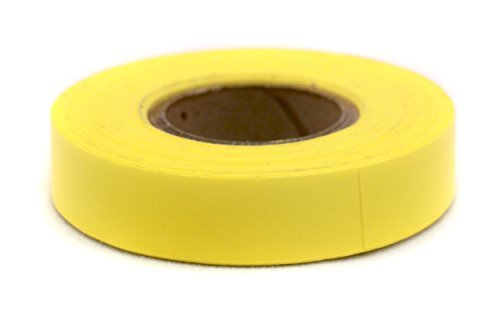 (ChromaLabel 1/2 inch Color-Code Labeling Tape | 500 inch Roll (Yellow))