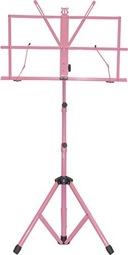 Audio2000'S AST4442PK Portable Sheet Music Stand, Pink