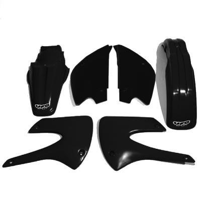UFO KAKIT207K-001 Body Kit and Replacement Plastic (KX85 1-9 Black)