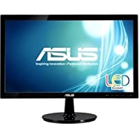 Asus Computer International - Asus Vs207t-P 19.5 Led Lcd Monitor - 16:9 - 5 Ms - Adjustable Display Angle - 1600 X 900 - 16.7 Million Colors - 250 Nit - 80,000,000:1 - Hd+ - Speakers - Dvi - Vga - 25 W - Black - Epeat Gold, Energy Star, Erp, Rohs, Tco Certified Displays 6.0, Weee Product Category: Computer Displays/Monitors