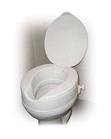 Amazon Com Raised Toilet Seat W Lid 4 Savannah Style Retail