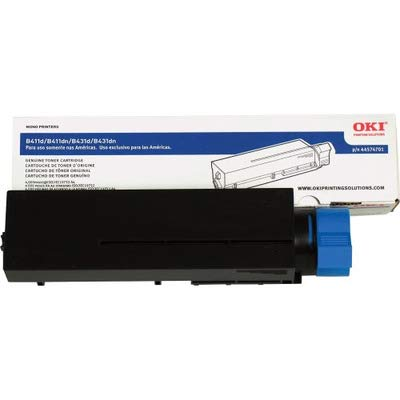 OkiData 44574701 Toner Cartridge for B411/B431 Series Printers, 4000 Page Yield, Black 4000 Page Black Copier