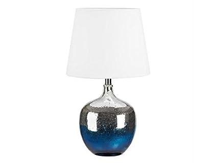 Markslojd lámpara de mesa cristal degradado azul - altura 57 ...
