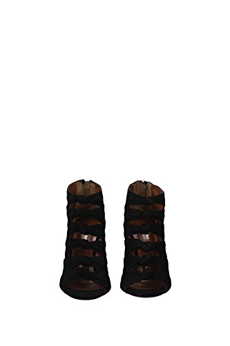 Stiefeletten AQUAZZURA Damen Schwarz UK NASHIGS0SUE000 PnwaSCwq