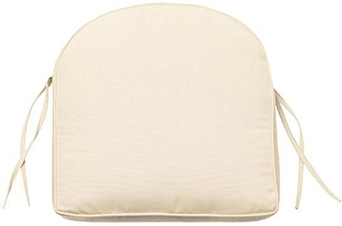 Box edge Contoured Outdoor Chair Cushion, 3