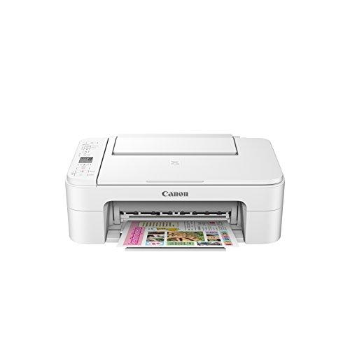 Canon PIXMA TS3120 Wireless Color Photo Printer with Scanner & Copier - White