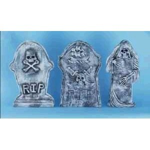 Skull and Bones Tombstone Prop]()