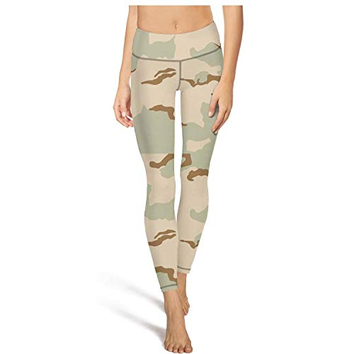 Womens high Waisted Leggins Military camo Desert Yoga Pants Stylish Trousers Leggings