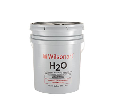 Contact Cement Solvent - Wilsonart H2O Water-Based Low VOC Nonflammable Contact Adhesive - 5 Gallon
