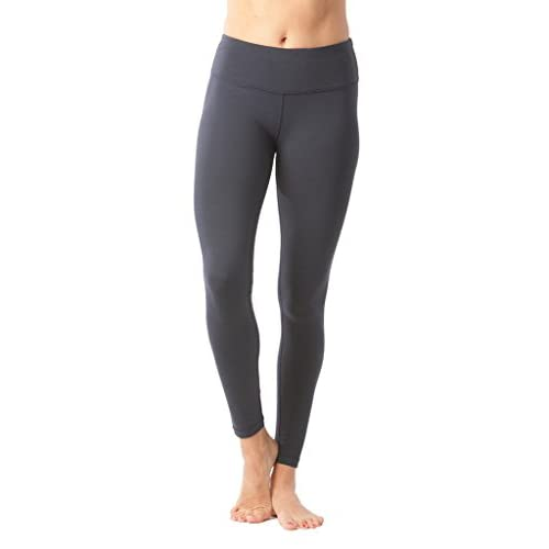 90 Degree By Reflex Womens Power Flex Yoga Pants - Blk Pearl - Large