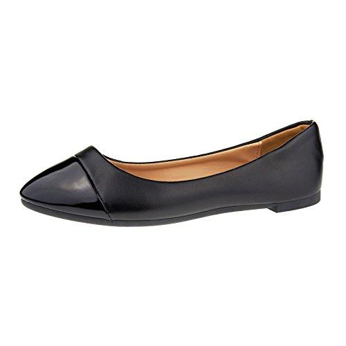 London Footwear ,  Damen Ballett Schwarz