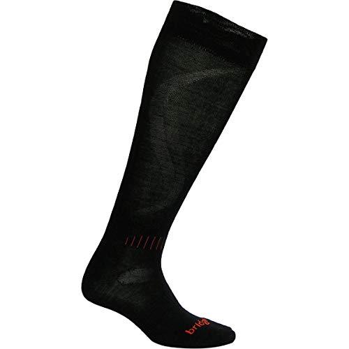Used, Bridgedale Men's Race Fit Ski Socks, Black/Orange, for sale  Delivered anywhere in USA