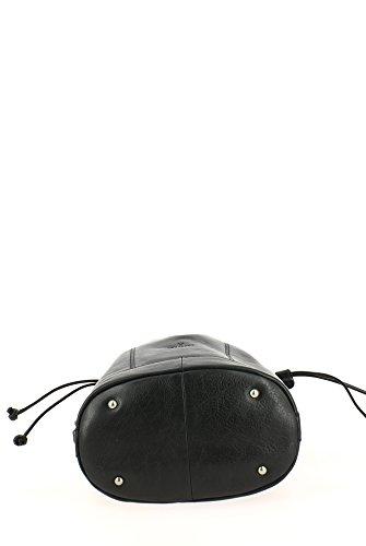 Borsa nero donna nero tracolla a Hexagona 1nFxPUU