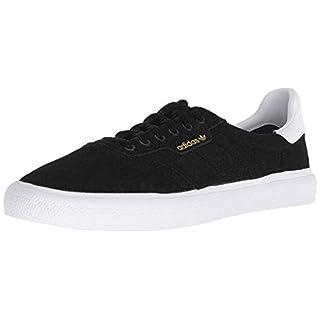 adidas Skateboarding Mens 3MC Black/White/Black Suede 11 D US