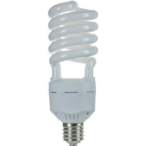 Sunlite SL65/65K/MOG 65 Watt High Wattage Spiral Energy Saving CFL Light Bulb Mogul Base 120 Volt Daylight (High Wattage Spiral)