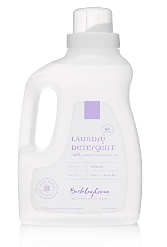 Berkley Green 2X Concentrated HE Laundry Detergent, Lavender, 2 Count