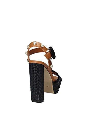 Guess FLMIC2 FAB05 High Heeled Sandals Women Black 35 LgbCJsGR1