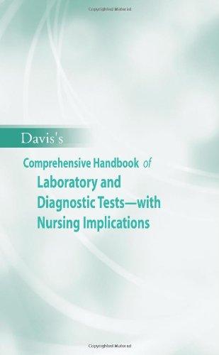 Davis's Comprehensive Handbook of Laboratory and Diagnostic Tests with Nursing Implications (Davis's Comprehensive Handb