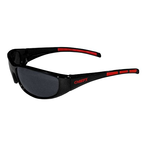 Siskiyou Gifts Co, Inc. 2FSG045 Kansas City Chiefs Wrap Sunglasses ()