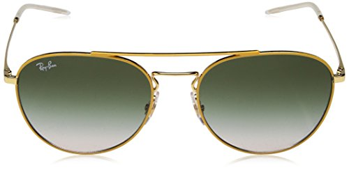 Gold Amarillo de Ban Gafas Sol Yellow On Top Mujer para 0RB3589 Ray wxt87d0x