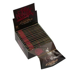 Loud Pack King Size Slim Rolling Papers Tray and Tips Wiz Khalifa Edition | Raw (Paper Tips Wiz Khalifa)
