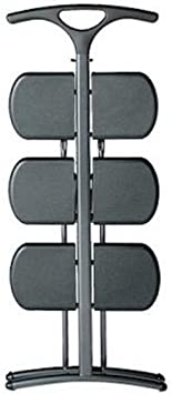 schwarz Plastik 43 x 92 cm Kartell Tiramisu Klappleiter