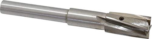 25/32'' Diam, 1/2'' Shank, Diam, 4 Flutes, Straight Shank, Interchangeable Pilot Counterbore pack of 2 by Value Collection