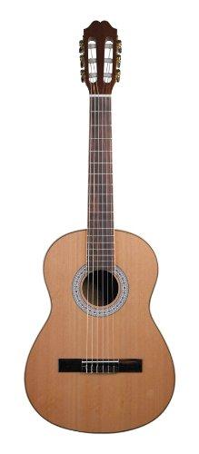 Antonio Hermosa AHQ-10 Classical Guitar, Solid Cedar Top 3/4 Size