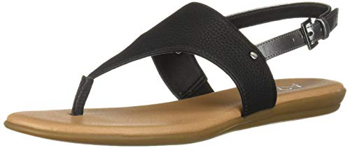 Aerosoles A2 Women's Art Chlub Flip-Flop, Black Combo, 7 M US