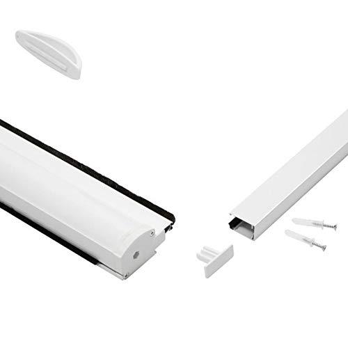 Mosquitera PALMAT para persiana de aluminio y adjustable 90 X 160 X 5 cm, Blanco