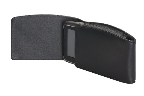 TomTom Leather Carry Case for 4.3- and 5-Inch GPS (Black)