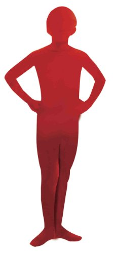 (Forum Novelties I'm Invisible Bodysuit, Red, Child's Large)