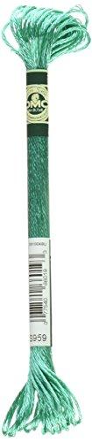 - DMC 1008F-S959 Shiny Radiant Satin Floss, Sea Green, 8.7-Yard