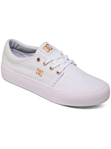 White Shoes Hombre Zapatillas TX Trase DC para Gum qwf4T7Tx