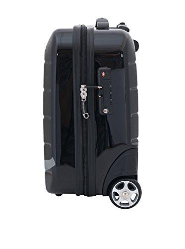 Ejecutive Trolley Negro cm amp;LOMBA 40 rígido DEVOTA tPxSn