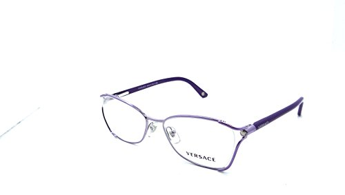 Versace Rx Eyeglasses Frames Mod 1208 1012 52x16 Lilac Made in - Versace Glasses Purple