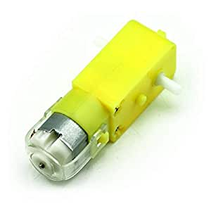 DC Geared Motors for Robots Straight Shaft