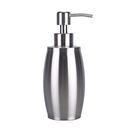 ARKTEK Soap Dispenser, Premium Stainless Steel Soap and Liquid Dispenser for Kitchen and Bathroom (350 ml) by ARKTEK