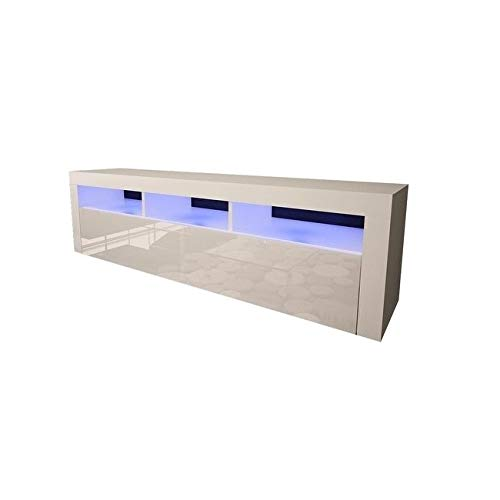 Meble Furniture & Rugs Milano Classic Wall Mounted Floating 63