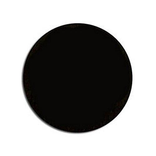 FastCap Self Adhesive Screw Cap Cover- 14Mm Black, Pack Of 52 -